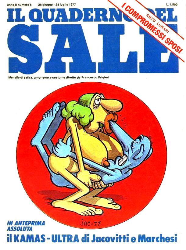 Il Quaderno del Sale, 1977. Mostra '77 Anno Cannibale