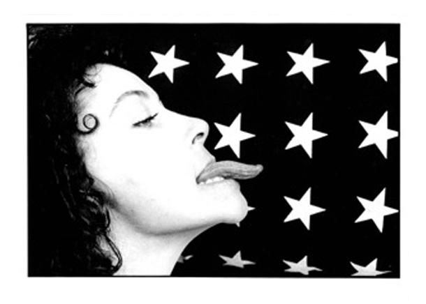 Gianfranco Gorgoni, Tongue, NYC, 1969, Vintage Gelatin Silver Print, 20,2x25,5cm, ©Gianfranco Gorgoni _ Courtesy Photology